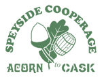 Buy Casks Barrels Online from Speyside Cooperage Logo