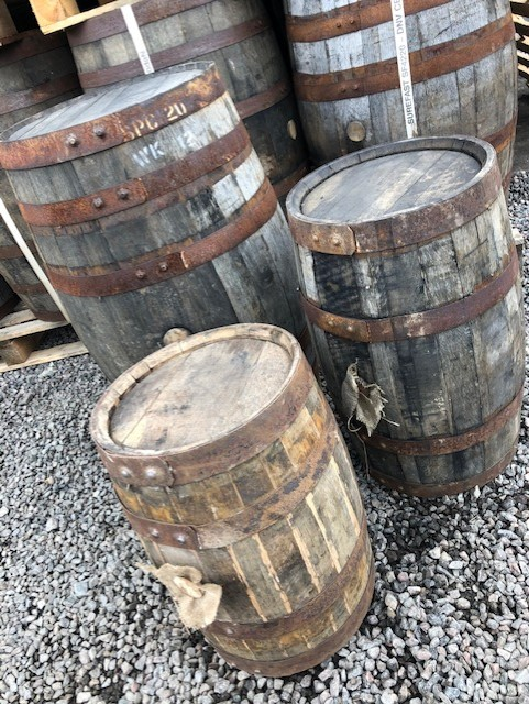 Used Casks Speyside Cooperage Scotland